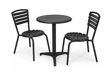 Parvekesetti Hillerstorp Brighton 58 Pyöreä + 2 tuolia