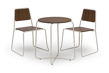 Parvekesetti Hillerstorp Oas 67 Pyöreä + 2 tuolia