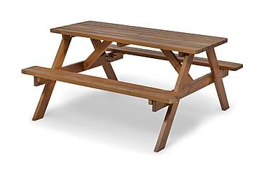 Picnic Pöytä A-malli Ruskea