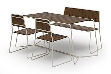 Cafégrupp Hillerstorp Oas 70x120 + 2 Oas tuolia + Oas Sohva