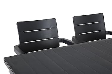 Ruokailuryhmä Futura 165 + 6 Ibiza Pinottava tuoli