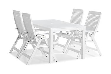 Ruokailuryhmä Lidö 150x90 + 4 Lidö tuolia