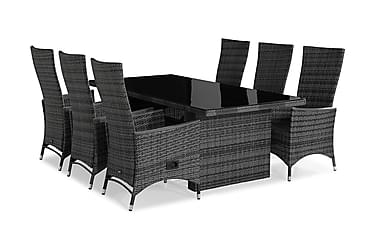 Ruokailuryhmä Majestic 210x100+6 Jenny Lyx nojatuolia