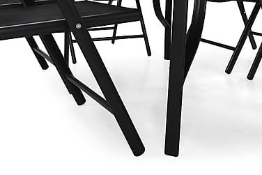 Ruokailuryhmä Primavera 150x90 + 6 tuolia
