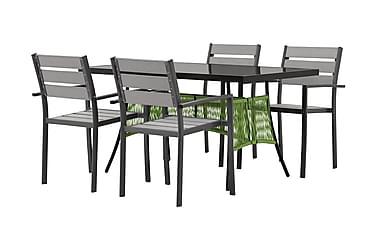 Ruokailuryhmä Ribston 140 4 Arrieta tuolilla