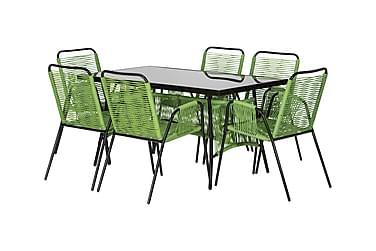 Ruokailuryhmä Ribston 140 6 tuolilla