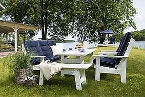 Sohvaryhmä Hillerstorp Herrgård Pöytä + Sohva + 2 nojatuolia