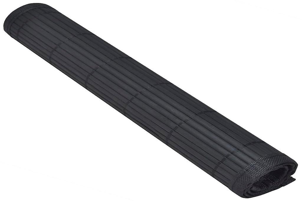 Bambu Tabletti 6 kpl 30 x 45 cm Musta - Musta - Sisustustuotteet - Keittiötarvikkeet - Keittiön tekstiilit