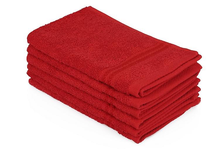 Käsipyyhe Hobby 30x50 cm 6-pak - Punainen - Sisustustuotteet - Keittiötarvikkeet - Keittiön tekstiilit