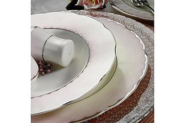 Ruoka-astiasto Kütahya 62 osaa Posliini