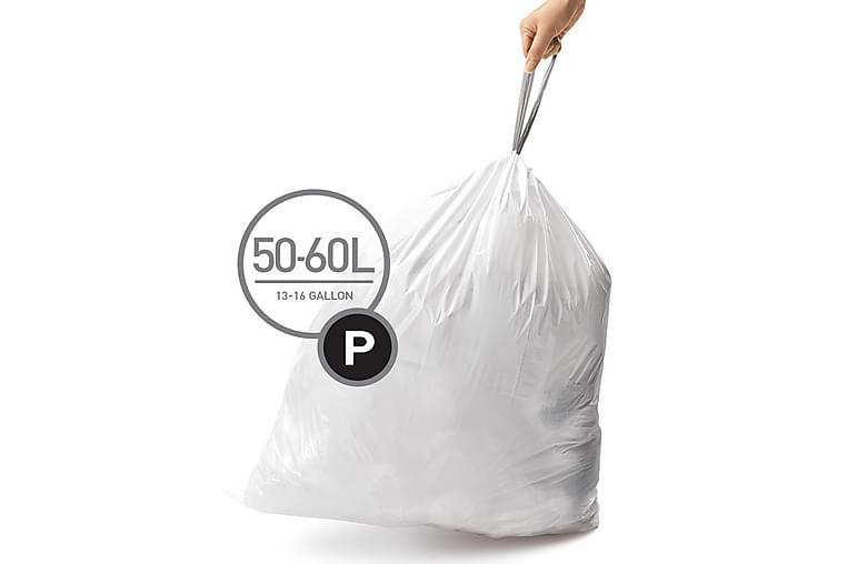 Pussi Tyyppi P 3 x 20 pac (60 pussia) - SimpleHuman - Sisustustuotteet - Keittiötarvikkeet - Roskakorit & jäteastiat