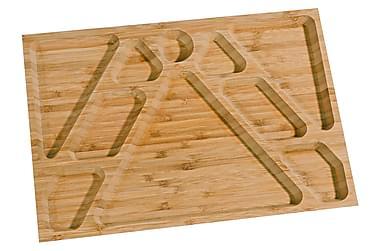 Aamiaistarjotin Kosova 34 cm Bambu