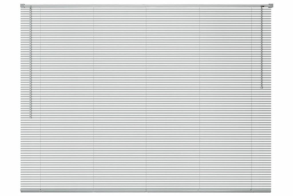 Sälekaihtimet Alumiini 160x220 cm Hopea - Hopea - Sisustustuotteet - Kodintekstiilit - Kaihtimet