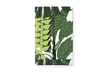 Pöytäliina Bunaken, 145x250cm, valkoinen/vihreä
