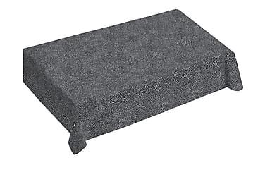 Pöytäliina Kurupuro 145x250 cm Musta/valkoinen