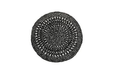 Tabletti Kajsa 38 cm Pyöreä Musta