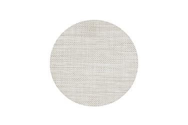 Tabletti Kansas 38 cm Pyöreä Valkoinen/Hiekka