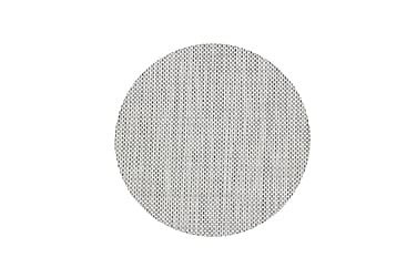 Tabletti Kansas 38 cm Pyöreä Valkoinen/Musta