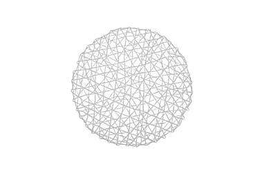 Tabletti Mio 38 cm Pyöreä Valkoinen