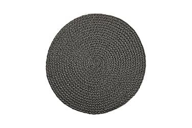Tabletti Sigge 38 cm Pyöreä Tummanharmaa
