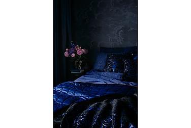 BLACKBIRD koristetyyny 45x45 cm musta-sininen