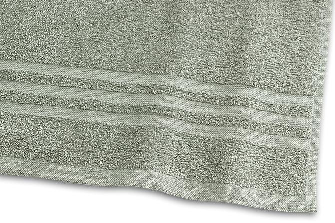 Basic Froteepyyhe 30x50 cm Vihreä - Borganäs - Kylpyhuone - Kylpyhuonetekstiilit - Pyyhkeet