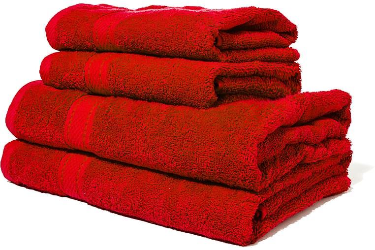 Frotee Käsipyyhe Lord Nelson 70x50 cm - Punainen - Sisustustuotteet - Kodintekstiilit - Kylpyhuoneen tekstiilit