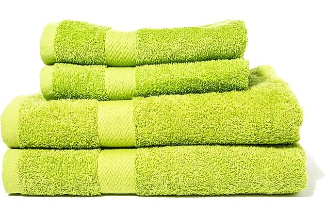Froteekäsipyyhe Queen Anne - 50x30cm Omenanvihreä - Sisustustuotteet - Kodintekstiilit - Kylpyhuoneen tekstiilit