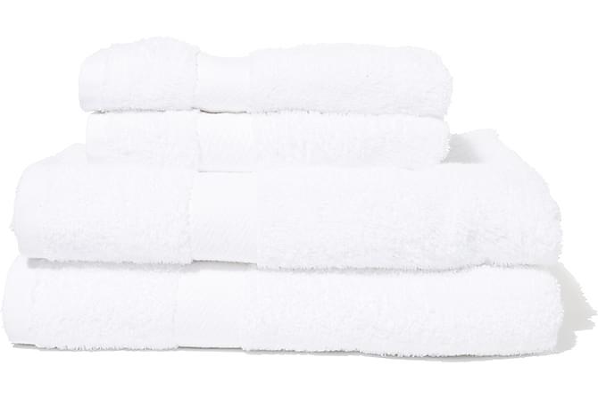 Froteekylpypyyhe Queen Anne - 130x65cm Valkoinen - Sisustustuotteet - Kodintekstiilit - Kylpyhuoneen tekstiilit
