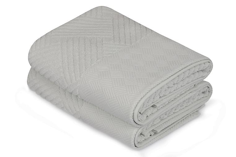 Käsipyyhe Şaheser 50x90 cm 2-pak - Vaaleansininen - Sisustustuotteet - Kodintekstiilit - Kylpyhuoneen tekstiilit
