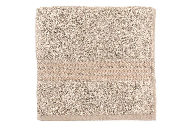 Käsipyyhe Hobby 30x50 cm - Beige - Sisustustuotteet - Kodintekstiilit - Kylpyhuoneen tekstiilit