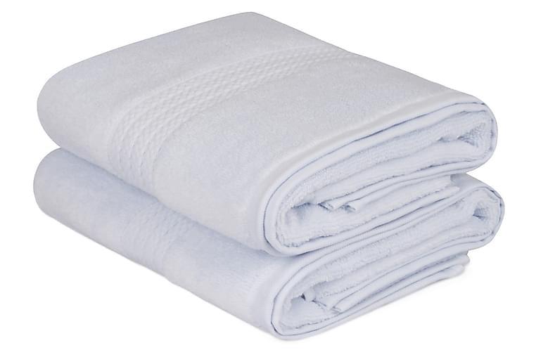 Käsipyyhe Hobby 50x90 cm 2-pak - Sininen - Sisustustuotteet - Kodintekstiilit - Kylpyhuoneen tekstiilit