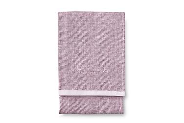 Käsipyyhe Lino Softi, 50x70cm, vaalea viininpunainen