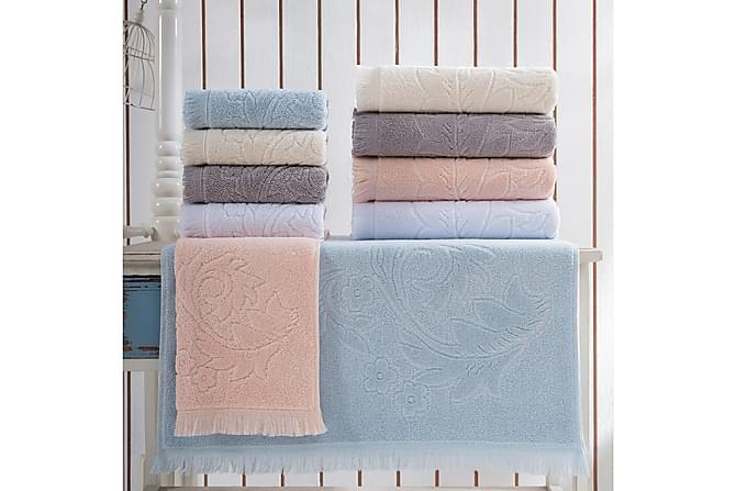 Käsipyyhe Marie Claire 50x90 cm - Harmaa - Sisustustuotteet - Kodintekstiilit - Kylpyhuoneen tekstiilit