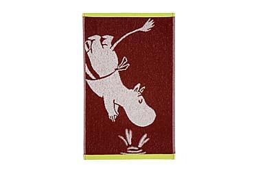 Käsipyyhe Muumimamma 30x50 cm Punainen