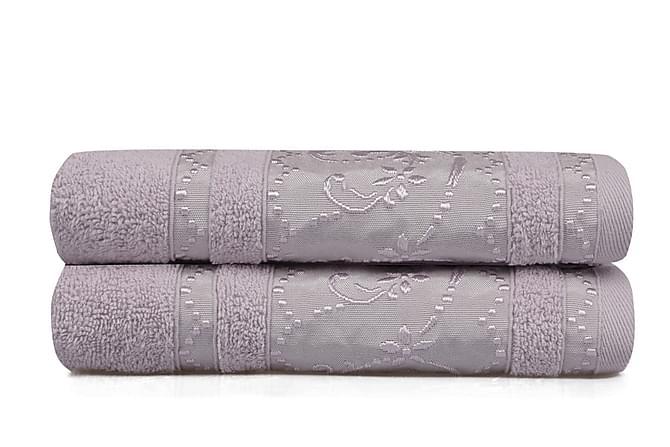Käsipyyhe Soft Kiss 50x90 cm 2-pak - Liila - Sisustustuotteet - Kodintekstiilit - Kylpyhuoneen tekstiilit