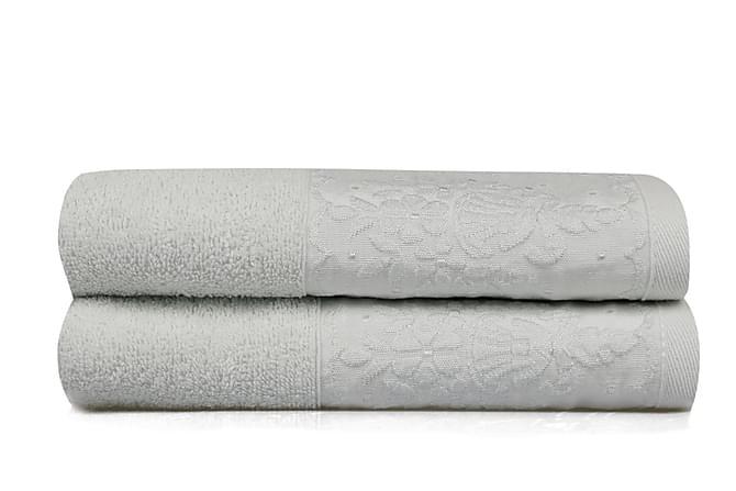 Käsipyyhe Soft Kiss 50x90 cm 2-pak - Vaaleansininen - Sisustustuotteet - Kodintekstiilit - Kylpyhuoneen tekstiilit