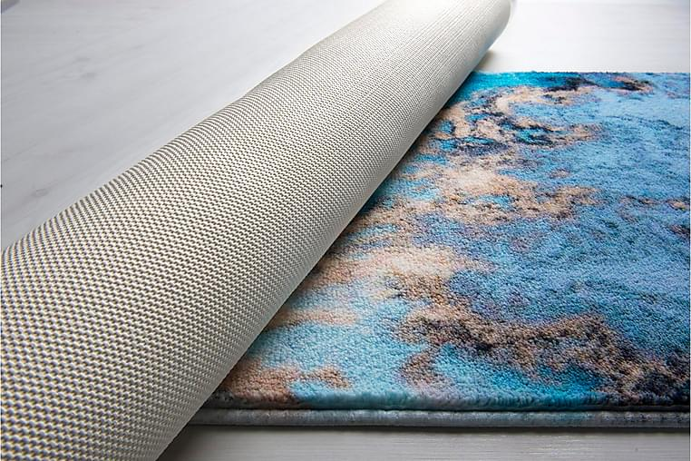 Kylpyhuonematto Penmon - Sininen / Beige - Sisustustuotteet - Kodintekstiilit - Kylpyhuoneen tekstiilit