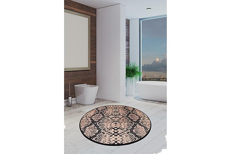 Kylpymatto Chilai Home 100 Pyöreä - Monivärinen - Sisustustuotteet - Kodintekstiilit - Kylpyhuoneen tekstiilit
