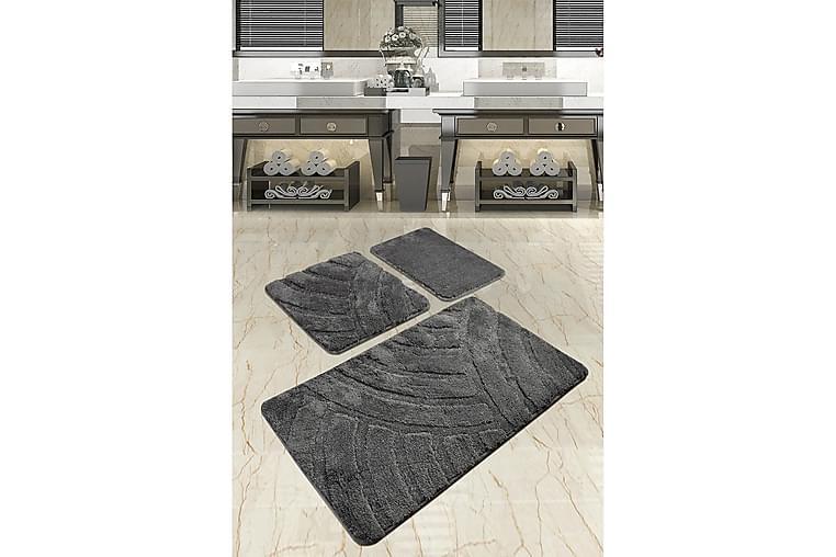 Kylpymatto Chilai Home 3:n setti - Monivärinen - Sisustustuotteet - Kodintekstiilit - Kylpyhuoneen tekstiilit
