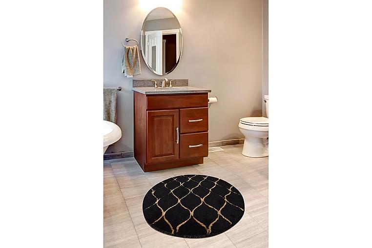 Kylpymatto Chilai Home 90 Pyöreä - Monivärinen - Sisustustuotteet - Kodintekstiilit - Kylpyhuoneen tekstiilit