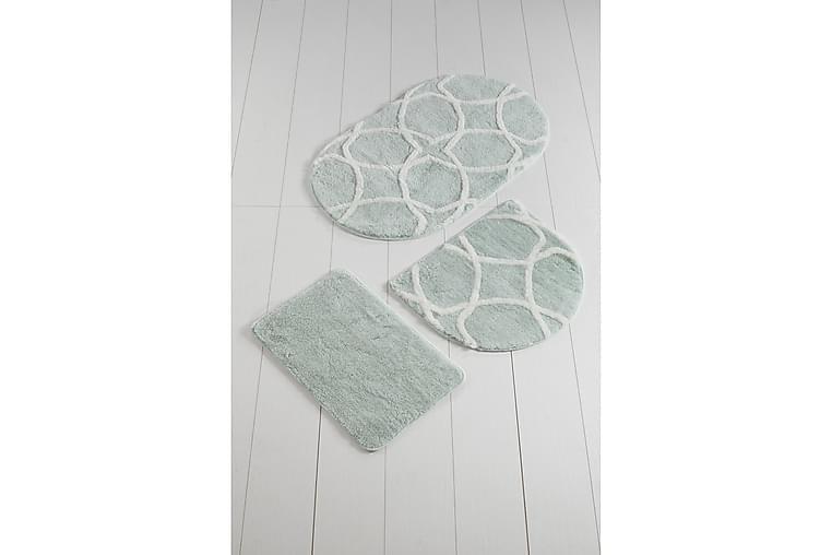 Kylpymatto Chilai Home by Alessia 3:n setti - Monivärinen - Sisustustuotteet - Kodintekstiilit - Kylpyhuoneen tekstiilit