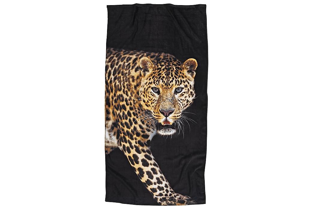 Kylpypyyhe 75x150 cm Leopardi - Franzén - Sisustustuotteet - Kodintekstiilit - Kylpyhuoneen tekstiilit