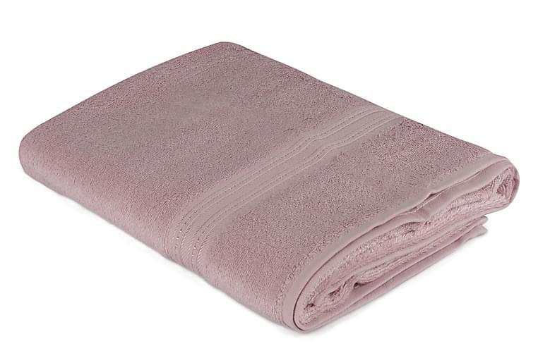 Kylpypyyhe Hobby 70x140 cm - Roosa - Sisustustuotteet - Kodintekstiilit - Kylpyhuoneen tekstiilit