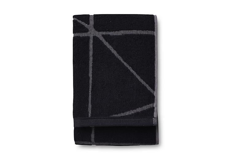 Kylpypyyhe Loisto 70x140 cm Musta - Finlayson - Sisustustuotteet - Kodintekstiilit - Kylpyhuoneen tekstiilit
