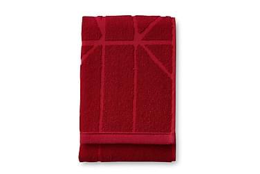 Kylpypyyhe Loisto, 70x140cm, punainen