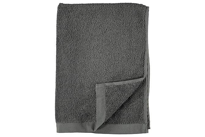 Kylpypyyhe Puuvilla Pellava 70x140 cm Harmaa - Gripsholm - Sisustustuotteet - Kodintekstiilit - Kylpyhuoneen tekstiilit