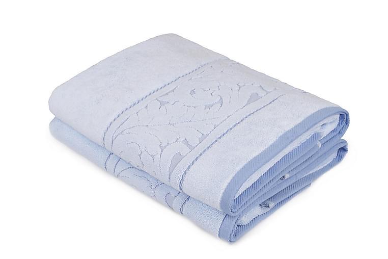 Kylpypyyhe Rhuddlan 2 kpl - Sininen - Sisustustuotteet - Kodintekstiilit - Kylpyhuoneen tekstiilit