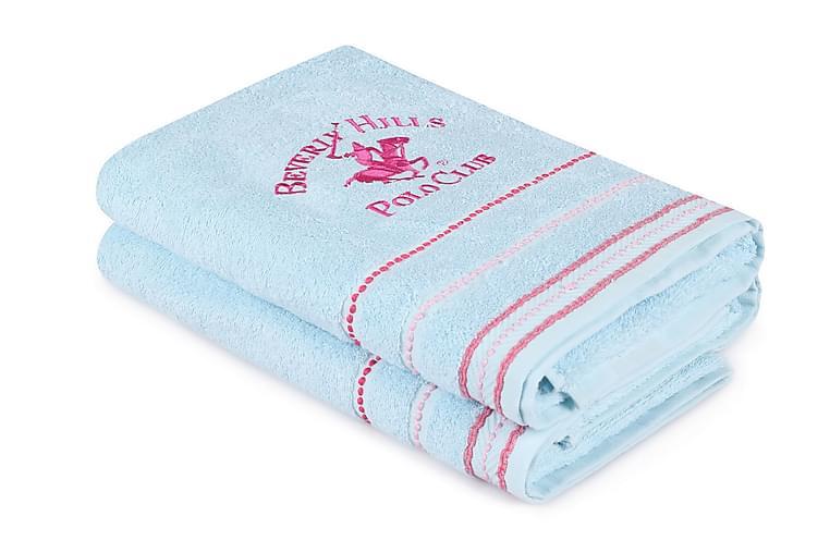 Kylpypyyhe Romilla 2 kpl - Sininen - Sisustustuotteet - Kodintekstiilit - Kylpyhuoneen tekstiilit