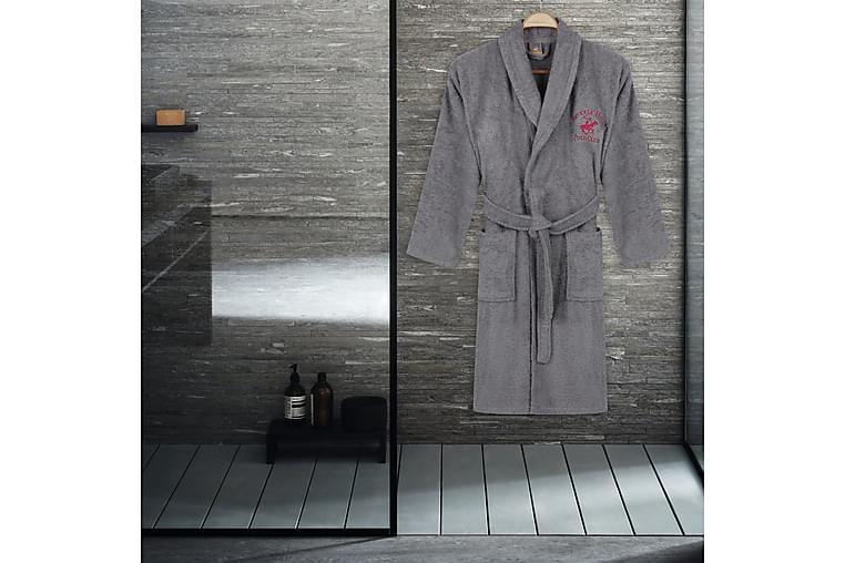 Kylpytakki Beverly Hills Polo Club S/M - Harmaa - Sisustustuotteet - Kodintekstiilit - Kylpyhuoneen tekstiilit
